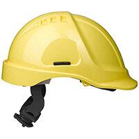 Scott Safety Style 600 HC635 Vented Helmet with Terylene Ratchet Headgear Yellow Ref HC635VY