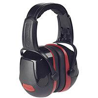 Scott Safety Zone 3 Industrial Headband Ear Defender Black & Red Ref Z3HBE