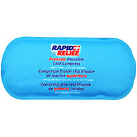 Rapid Relief Premium Reusable Cold Compress 5in x 11in Blue Ref RA11251