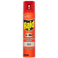 Johnson Diversey RAID Ant and Cockroach Aerosol Spray 300ml