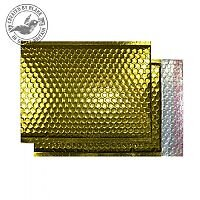 Purely Packaging Bubble Envelope P&S C3 Metallic Gold Ref MBGOL450 [Pk 50]