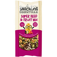 Snacking Essentials Fruit & Seeds Mix Shot Packs 40g Ref 508440 Pack of 16