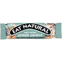 Eat Natural Fruit Nut Bar Salted Caramel & Peanuts 45g Ref PSC Pack of 12