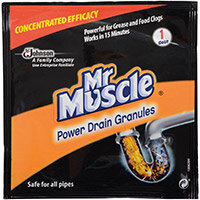 Mr Muscle Power Drain Granules 50g Ref 74780