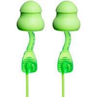 Moldex 6441 Twisters Corded Earplugs Foam Pod Green Ref M6441 [Pack 80]