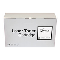 5 Star Value Remanufactured Laser Toner Cartridge Yield 6000 Pages Black for HP Printers Ref 2383811