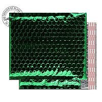 Purely Packaging Bubble Envelope P&S CD Metallic Green Ref MBGRE250 [Pk100]