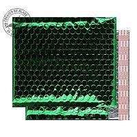 Purely Packaging Bubble Envelope P&S CD Metallic Green Ref MBGRE250 [Pk100]