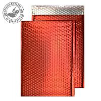 Purely Packaging Bubble Envelope P&S C4 Matt Metallic Chilli Ref MTR324 [Pk 100]