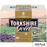 Yorkshire Gold Tea Bags Ref 0403384 Pack of 160