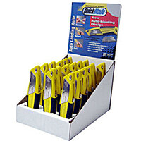 Pacific Handy Cutter Display Case Autofeed Knives Assorted Ref DBQBA-18 Pack of 18