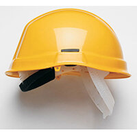 Scott HC710 Reduced Peak Helmet Yellow Ref HC710RPY