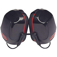 Scott Safety Zone 3 Industrial Neckband Ear Defender Black & Red Ref Z3NBE