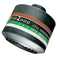 Scott Safety Pro 2000 CF32 A2B2E2K2-P3 Combination Filter 40mm Thread Grey Ref 5042799