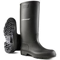 Dunlop Pricemastor Wellington Boot Size 6 Black Ref BBB06