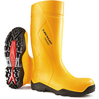 Dunlop Purofort Plus Safety Wellington Boot Size 7 Yellow Ref C76224107
