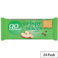 McVities Go Ahead Fruit Slices Apple/Sultana Individually Wrapped Twin Pack Biscuits Pack of 24
