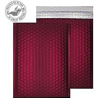 Purely Packaging Bubble Envelope P&S C5+ Matt Metallic Wine Ref MTWR250 [Pk 100]