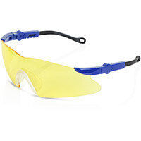 B-Brand Texas Safety Spectacles with Adjustable Side Arms Yellow Ref BBTXS2Y