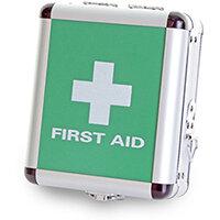 Click Medical Small Aluminium First Aid Case Ref CM1015