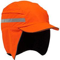 Scott Safety First Base 3 Winter High Visibility Cap Reduced Peak Orange Ref HC23WINTERHO