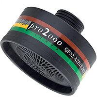Scott Safety Pro 2000 GF32 A2B2E2K2 Gas Filter 40mm Thread Black Ref 5042979
