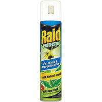 Johnson Diversey RAID Protector Fly Wasp and Mosquito Killer Aerosol Spray 300ml