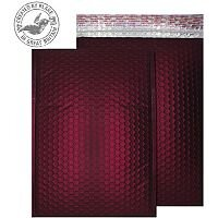 Purely Packaging Bubble Envelope P&S C4 Matt Metallic Wine Ref MTWR324 [Pk 100]