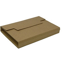 Rigid Corrugated Postal Wrapper Small 250x180x50mm Manilla Ref RBL10535 Pack of 25