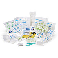 Click Medical Football First Aid Kit Refill Ref CM0068
