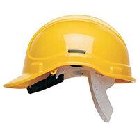 Scott Safety Style 300 HC300EL Unvented Helmet with Terylene Standard Headgear Yellow Ref HC300ELY
