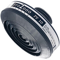 Scott Safety Pro 2000 PF10 P3 Particle Filter 40mm Thread Black Ref 5052670