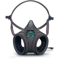 Moldex Mask Body Twin Filter Low Profile Medium Grey Ref M8002