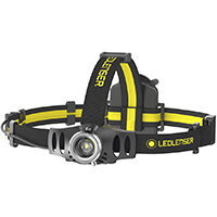 LED Lenser IH6R Head Lamp Rechargeable 200 Lumens 120m Splash Proof Ref LED5810R