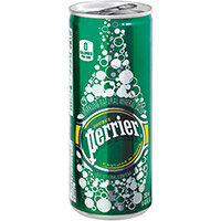Perrier Sparkling Mineral Water Can 250ml Ref 11648958PK35 Pack of 35