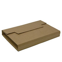 Rigid Corrugated Postal Wrapper Medium 290x230x50mm Manilla Ref RBL10536 Pack of 25