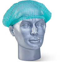 Click Once Disposable Hairnet Green Ref DMCG