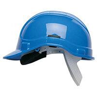 Scott Safety Style 300 HC300SB Unvented Helmet with Polyethylene Standard Headgear Blue Ref HC300SBB