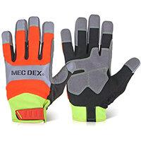 Mecdex Functional Plus Impact Mechanics Glove XL Ref MECFS-713XL