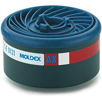 Moldex AX 7000/9000 Particulate Filter EasyLock System Blue Ref M9600 Pack of 4