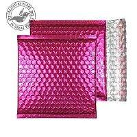 Purely Packaging Padded Envelope P&S CD Metallic Pink Ref MBP165 [Pk 200]