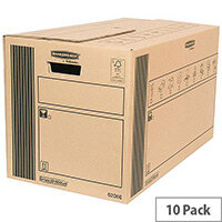 Fellowes Classic Packing Cardboard Storage Boxes 350 x370x660mm (Pack of 10)