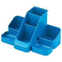 Blue Desk Tidy 7 Compartments W164xD116xH85mm Avery Basics