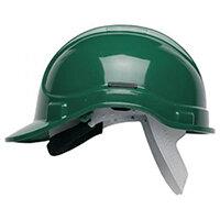 Scott Safety Style 300 HC300SB Unvented Helmet with Polyethylene Standard Headgear Green Ref HC300SBG