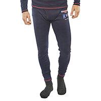 Click Arc Compliant Long John Fire Retardant Base Layer Trousers Size S Navy Blue Ref CARC24S