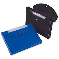 Rexel Optima A4 Box File Plastic Black Magnetic Seal for 400 Sheets 40mm Pack of 10