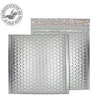 Purely Packaging Bubble Envelope P&S CD Matt Metallic Chrome Ref MTA165 [Pk 100]