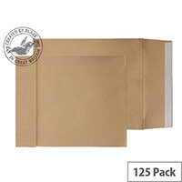 Purely Packaging Envelope Gusset P&S 140gsm C3 Manilla Ref G55501 [Pack 125]