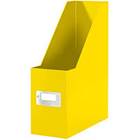 Leitz Click & Store Magazine File Collapsible Yellow Ref 60470016