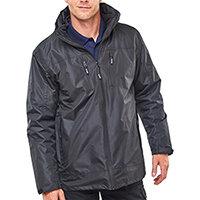 B-Dri 3 in 1 Weatherproof Mowbray Jacket Size XL Black Ref MBBLXL